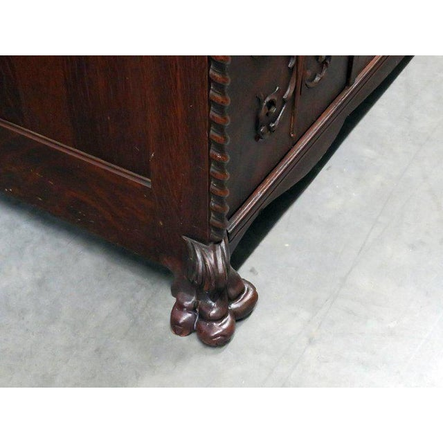 Renaissance Style Sideboard With Superstructure For Sale - Image 12 of 13