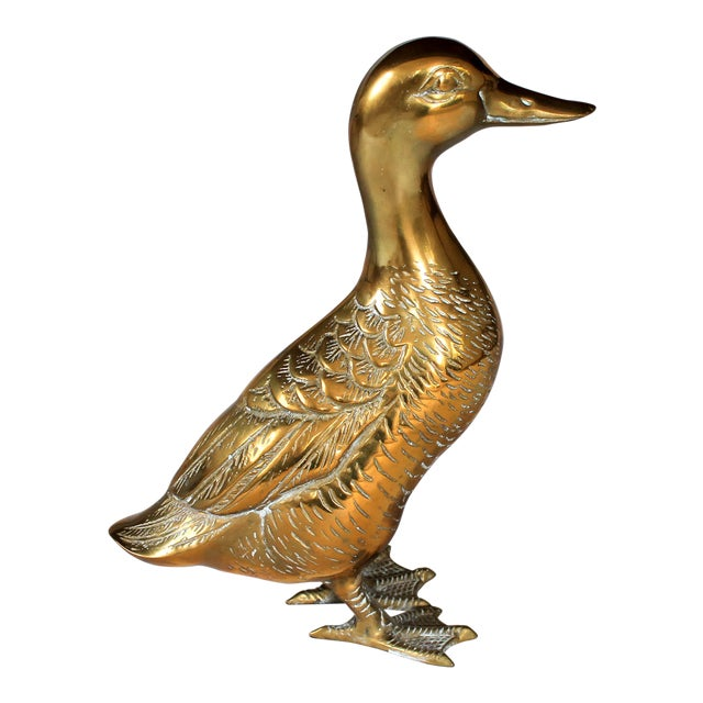 Brass Duck Figurine - Image 1 of 5