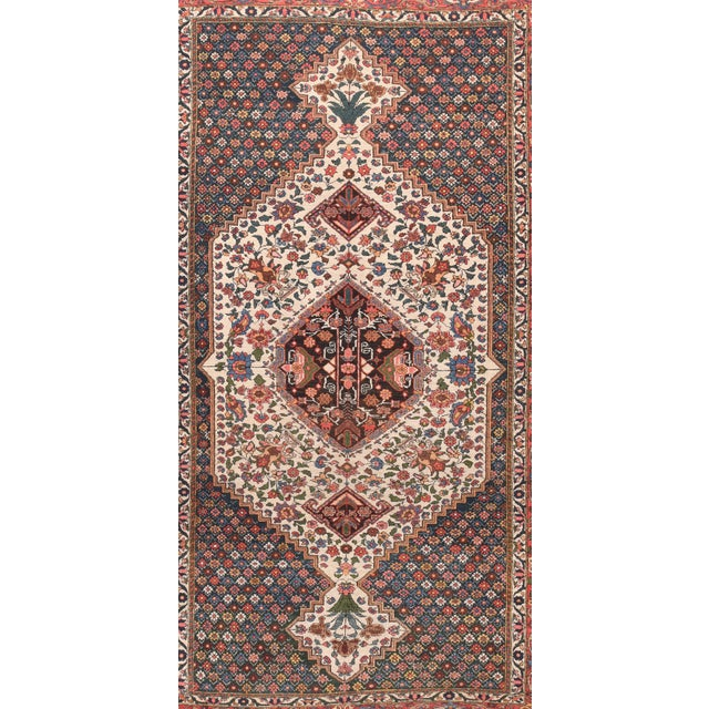 Persian 1910s Hand Knotted Persian Bakhtiyari Wool For Sale - Image 3 of 4