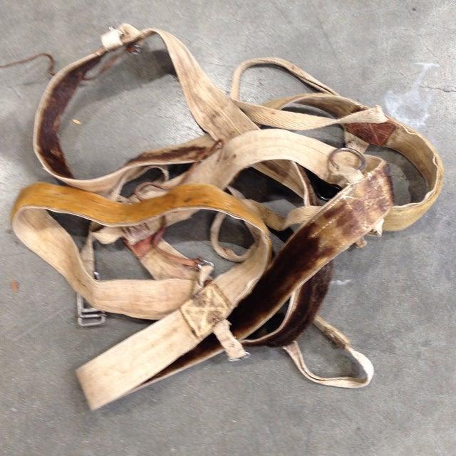 Austrian Leather & Reindeer Skin Backpack - Image 7 of 7