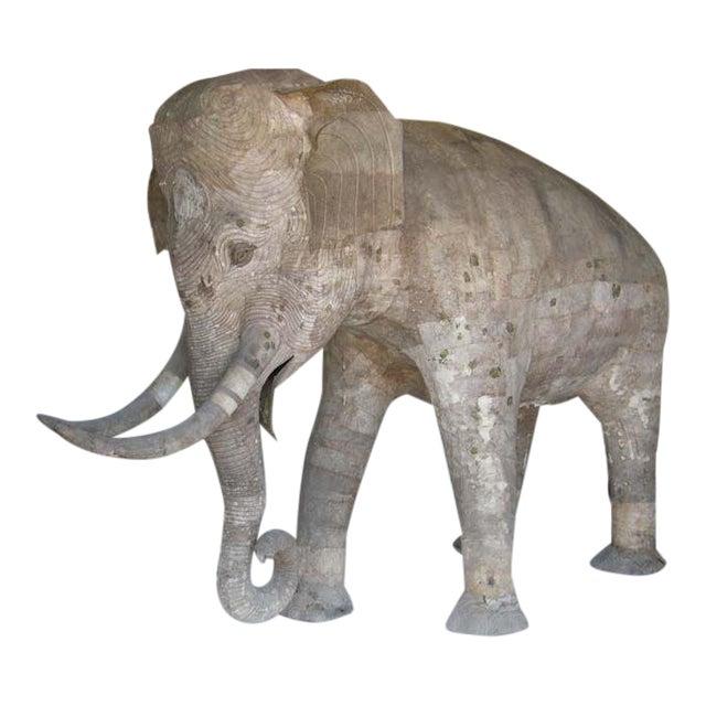 Life Size Papier Mache Elephant For Sale