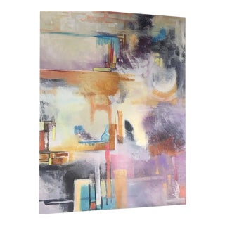 Katie Turk Original Acrylic Abstract Painting For Sale