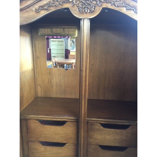 Thomasville Thomasville Armoire French Provincial For Sale - Image 4 of 8