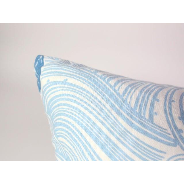 "2010s Jeffrey Allen Marks Custom Made Designer Tropical Koi Pillow Pair - 18""x18"" For Sale - Image 5 of 7"