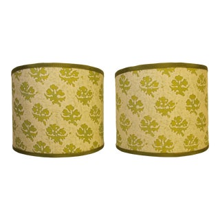 Fortuny Persiano Sconce Shades - a Pair For Sale