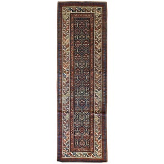 "Caucasian Shirvan Runner 3'2"" x 10'3"" For Sale"