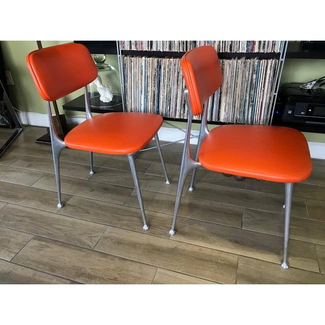 1960s Pair of Gazelle Chairs - Newly Upholstered For Sale - Image 5 of 13