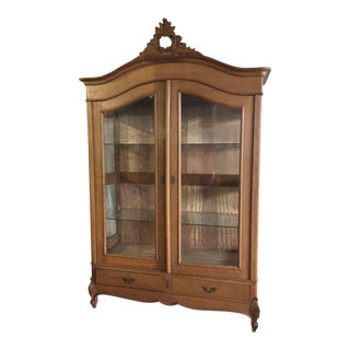French Louis XV Style Wardrobe Cabinet