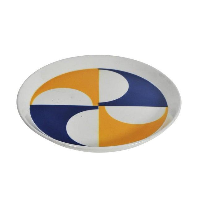 Gio Ponti for Franco Pozzi Ceramic Plates For Sale - Image 10 of 12