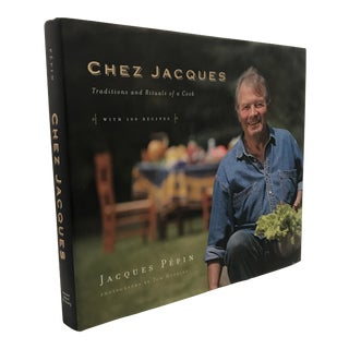 """2007 """"Chez Jacques With 100 Recipes"""" Signed First Edition Cookbook For Sale"""