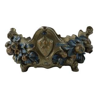 Circa 1900 Antique French Cast Brass Nouveau Jardiniere