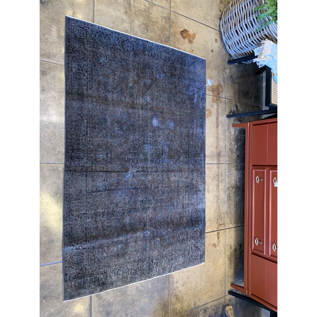 1940s Turkish Silk Rug For Sale In Los Angeles - Image 6 of 7