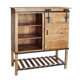Salvaged Bar Cabinet For Sale