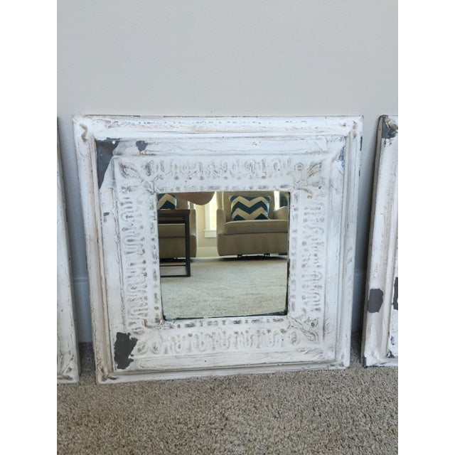 Pottery Barn Noelle Mirrors - Set of 3 - Image 3 of 4
