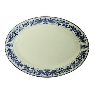 1980s Nippon Royal Sometuke Platter For Sale
