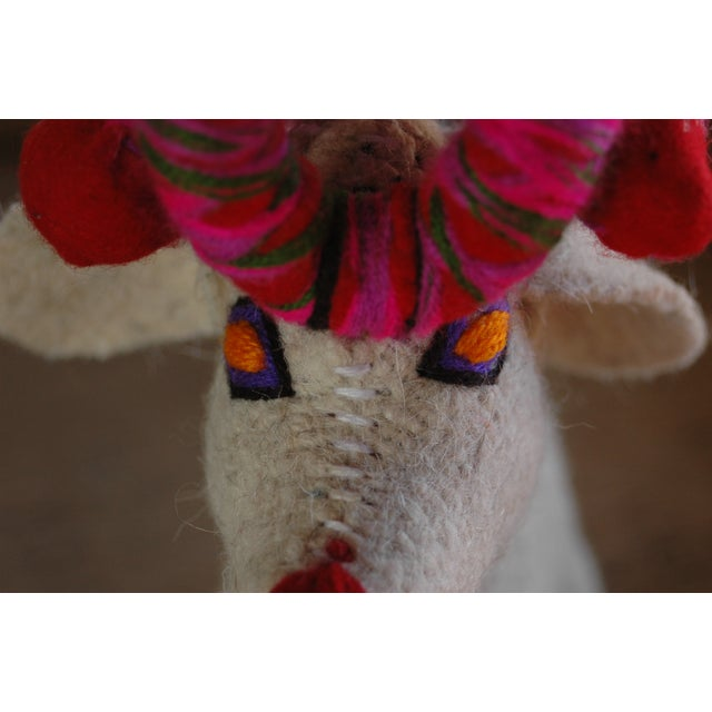 Mexican Felted Wool Animal - Image 5 of 5