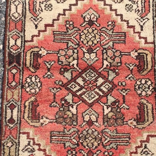 Vintage Hamadan Persian Rug -1′10″ × 2′4″ - Image 3 of 8