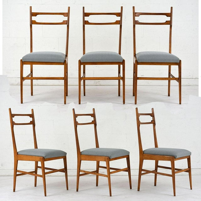 Set of 6 Mid-Century Modern Dining Chairs - Image 9 of 9