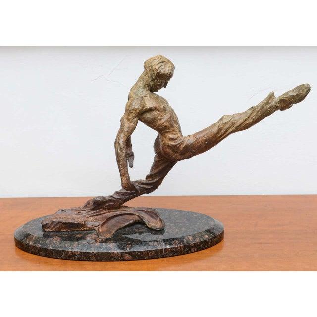 Contemporary Richard Macdonald Suspension Flamenco Sculpture--2002 USA For Sale - Image 3 of 10