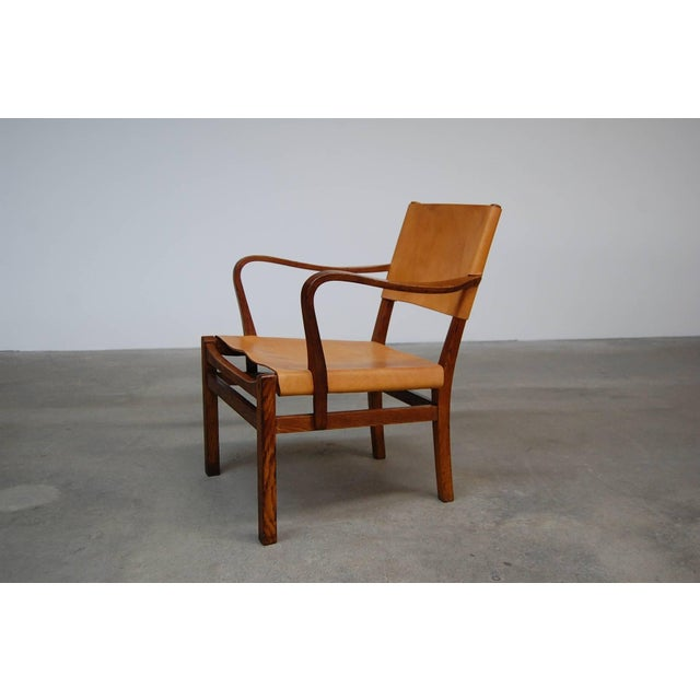 Wood Lounge Chair Designed by Axel Einar Hjorth For Sale - Image 7 of 7