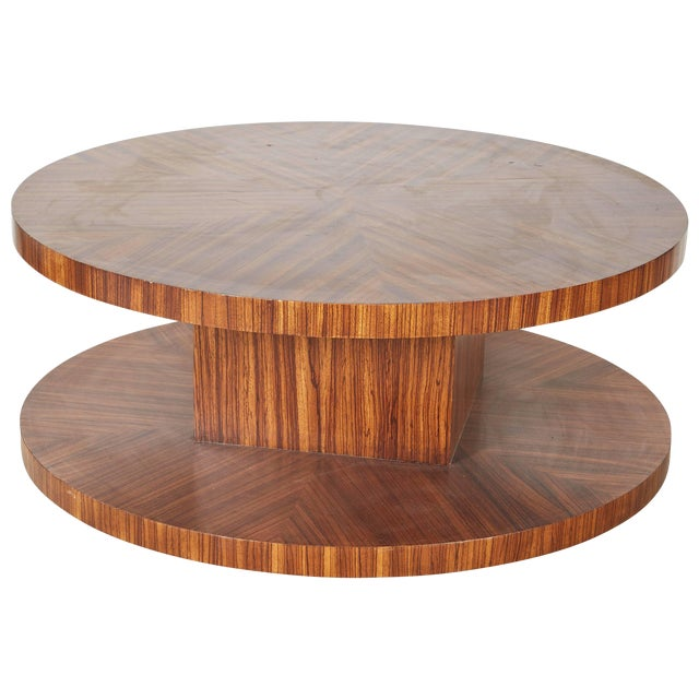 Rotating Modernist Coffee Table For Sale