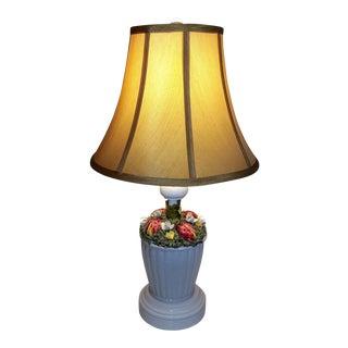1965 Lady Bug Porcelain Lamp For Sale