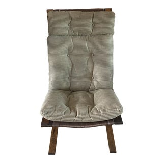 Vintage Mid Century Westnofa Lounger Chair For Sale