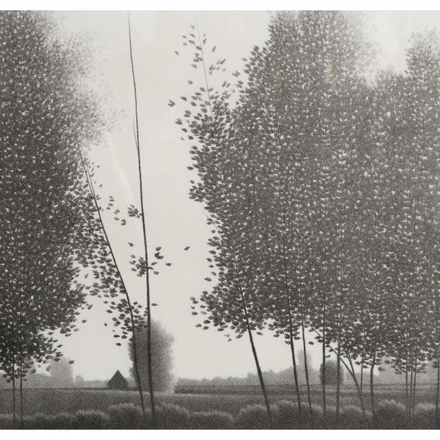 Artist: Robert Kipniss, American (1931 - ) Title: Tual Year: circa 1980 Medium: Mezzotint, signed and titled in pencil...