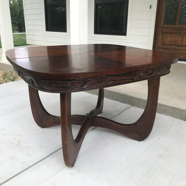 Pulaski Furniture Oceanic Table, Attributed to Witco For Sale - Image 13 of 13