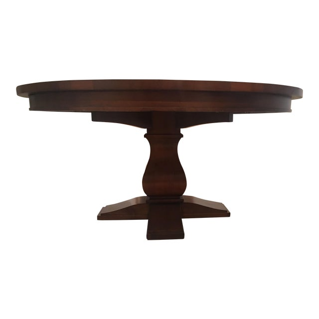 Restoration Hardware Round Dining Table - Image 1 of 10