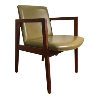 Mid-Century Modern Walnut Chair
