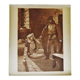 1899 Photogravure of William De Leftwich Dodge's Il Trovatore Opera Painting For Sale