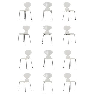 Fritz Hansen Ant Chairs - Set of 12 For Sale