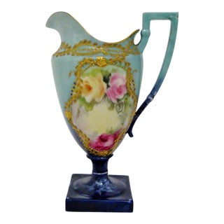 Small Victorian Decorative Ewer For Sale
