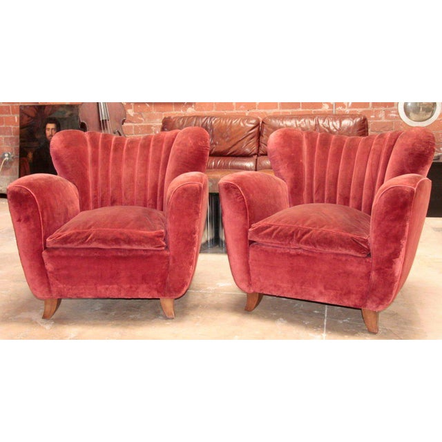 large comfy oversized armchairs
