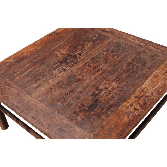 Vintage Sarreid LTD 1950s Elm Coffee Table - Image 3 of 3