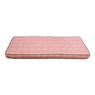 Custom House of Harris Fabric Cushion For Sale