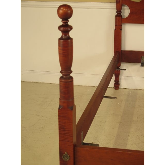 Eldred Wheeler King Cannonball Bed For Sale - Image 5 of 11