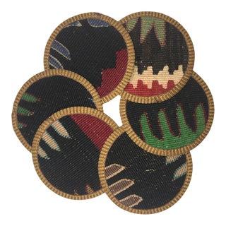 Rug & Relic Kilim Coasters Set of 6 | Aylin