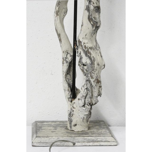 1950s Driftwood Lamp For Sale - Image 5 of 7