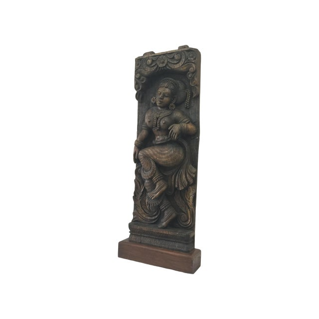 Indonesian Wood Carving on Stand - Image 1 of 11