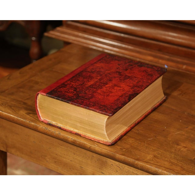 Early 20th Century Leather and Gilt Illustrated King James Version Family Bible For Sale In Dallas - Image 6 of 12