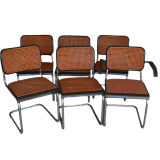 Mid-Century Modern Italian Dining Chairs - Set of 6