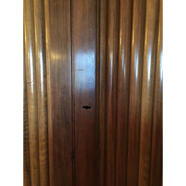 French Cabinet with Accordion Doors - Image 6 of 7