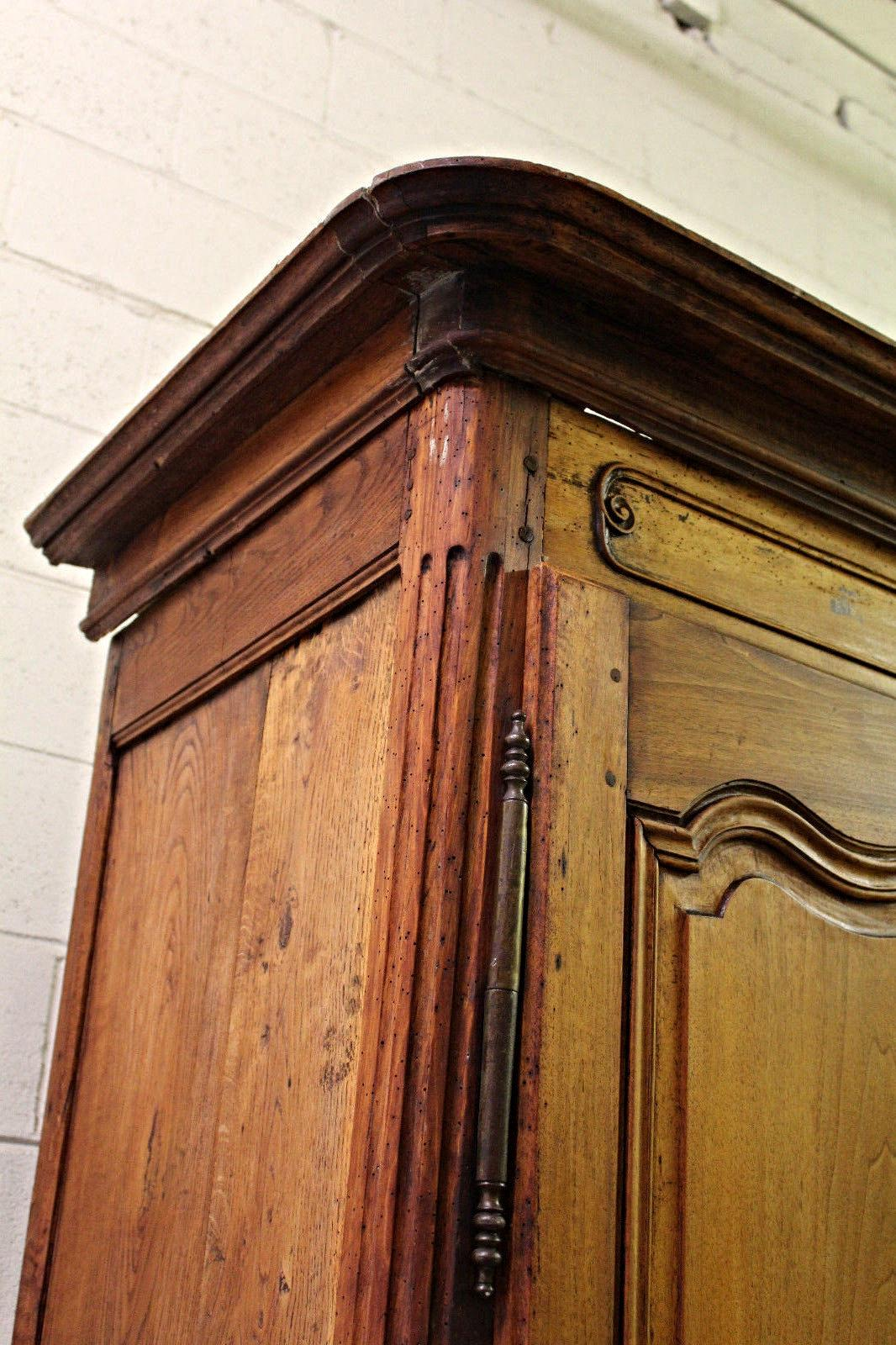 Fine 18th C French Country Armoire Wardrobe   Image 5 Of 7