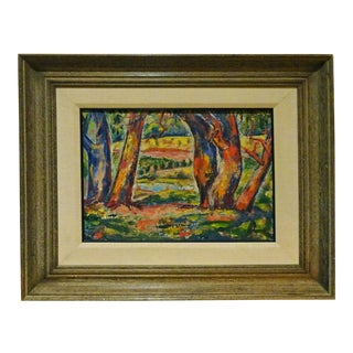 American-Australian Expressionist Fauvest Oil Painting by Livia Cinquegrana For Sale