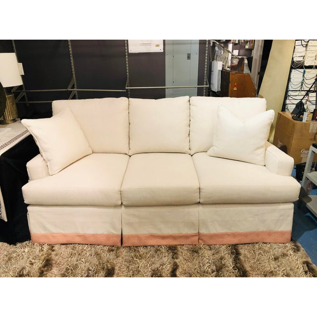 Cr Laine 3 Seat Track Arm Sofa For Sale - Image 10 of 10