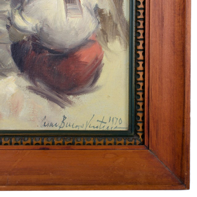 Cesar Buenaventura Oil Painting For Sale - Image 4 of 4