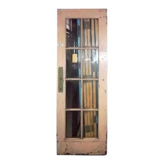 Eight Panel French Steel Door From the Philadelphia Civic Center