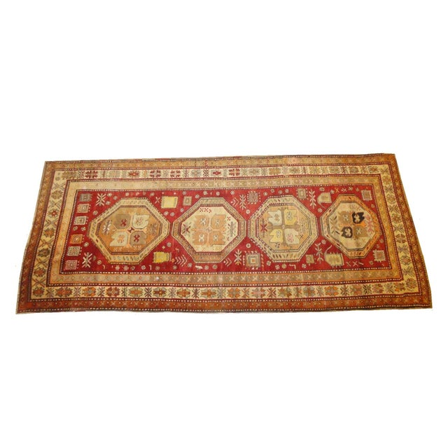 "Antique Persian Bakhshayesh Rug - 9'8"" x 4'1"" For Sale"